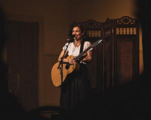 Auckland musician Anna Coddington played to a sold-out house in Port Chalmers last weekend....