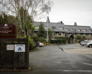 Chateau on the Park Hotel in Christchurch is one of the isolation facilities. Photo: RNZ / Nate...