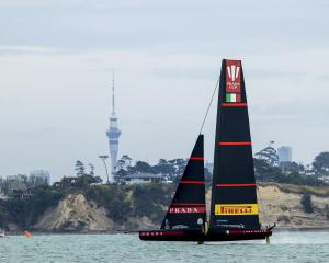 Luna Rossa has dominated the final series over Ineos Team UK. Photo: Getty Images