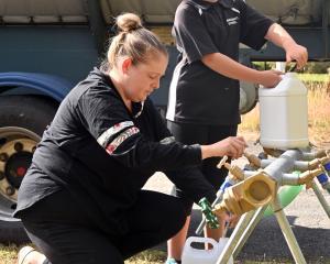 Hawksbury Village Management Ltd managing director Kylie Scott, with daughter Emily, says the 120...