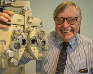Christchurch optometrist John Veale closed his business in Shirley, winding down a career which...