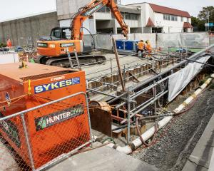 Garry Moore is questioning whether there is subsidence at the Metro Sports Facility site. Photo:...