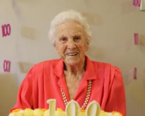Woodcote Retirement Village resident Ruth Cridge turned 100 last weekend, celebrating in style...