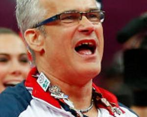 "John Geddert was coach of the women's team known as the ""Fierce Five"" that won gold at the 2012..."