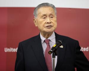 Tokyo Olympic And Paralympic Games Organising Committee (TOGOC) President Yoshiro Mori. Photo:...