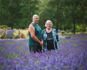 Barry and Jo Todd are pleased the Danseys Pass Rd has reopened so they can welcome visitors back...