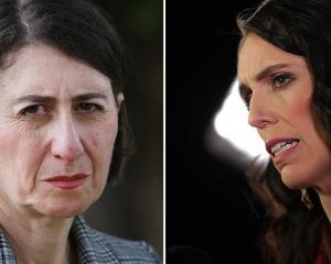 Gladys Berejiklian (left) and Jacinda Ardern. Photo: NZ Herald