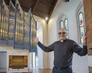 Reverend Nick Mountfort. Photo: Geoff Sloan