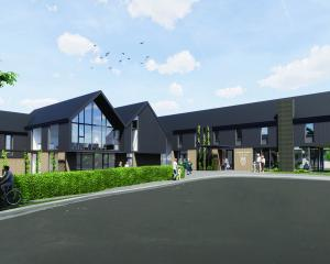 An artist's impression of a planned new boarding facility to be built at Columba College. IMAGE:...