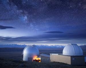 Mt John Observatory is New Zealand's leading observatory, and the most scenic. Photo: Supplied