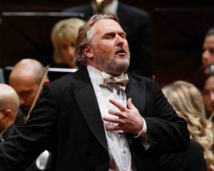 Auckland-based tenor and University of Otago alumnus Simon O'Neill. Photo: supplied