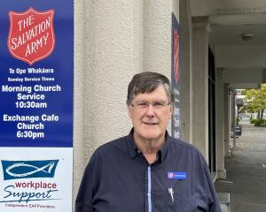 Salvation Army Dunedin Community Ministries manager David McKenzie says there is good and bad...