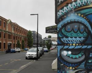 Vogel St, a focal area for businesses in Dunedin. Photo: Gerard O'Brien