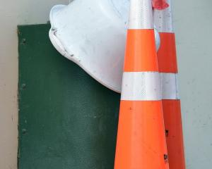 The drinking fountain at Waikouaiti School has been closed.PHOTO: PETER MCINTOSH