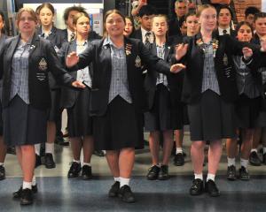 Te Wairua Puhou, the combined kapa haka group of Otago Girls' High School and Otago Boys' High...