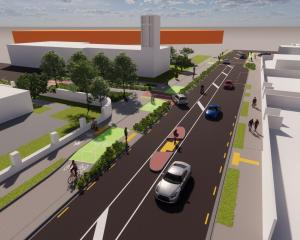 The Wheels to Wings - Papanui ki Waiwhetū cycleway plan. Image: Newsline