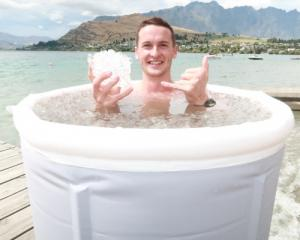 Queenstowner Paddy Turnhout's preparing to go on ice for a good cause. Photo: Mountain Scene