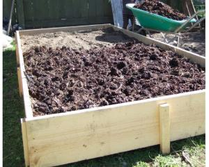 4: Add a good thick layer of compost on top, up to 10cm if you can get your hands on that much.