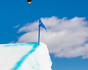 Queenstown's Cool Wakushima gets some air in Aspen, Colorado, where she won her first...