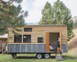 Tiny homes are often seen as the way forward. Photo: Getty Images