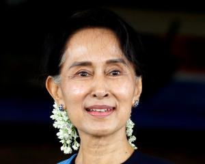 Aung San Suu Kyi came to power after a 2015 landslide election win that followed decades of house...