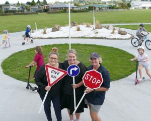 Naish & Centennial Park Redevelopment Group members (from left) Rachel Jenkinson, Rachael...