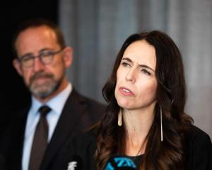 Prime Minister Jacinda Ardern and Health Minister Andrew Little. Photo: RNZ