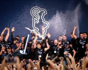 Team New Zealand has already been issued a challenge for the next America's Cup. Photo: Getty Images