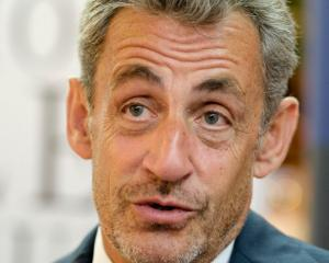 Nicolas Sarkozy is protesting his innocence, saying he's the victim of a deep injustice. Photo:...