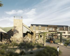 An artist's impression of a proposed retirement village in Wanaka. IMAGE: SUPPLIED