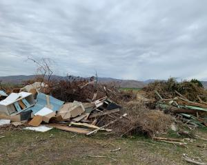 The Waitaki District Council is seeking information on the illegal dumping of a large pile of...