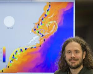 University of Otago marine science lecturer and Moana Project research supervisor Robert Smith...