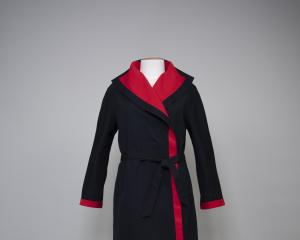 Reversible El Jay label coat, 1979. Gift of Mrs E. McIndoe; Otago Museum ...