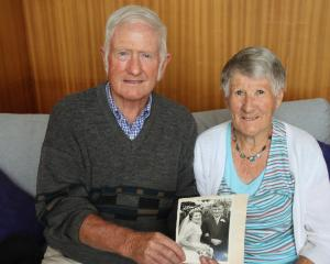 Balfour's Marilyn and Alister Lee celebrated their 60th wedding anniversary yesterday. PHOTO:...