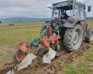 The New Zealand Ploughing Championships will be held on Mark and Sonia Dillon's property in...
