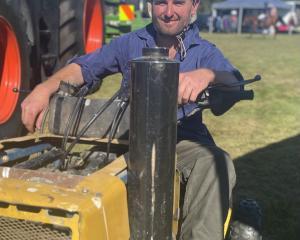 Macraes Moonlight farmer Tom McCone won the Strath Taieri A&P Show's Angus McCutcheon...