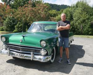 Allan Berland was meant to take his 1955 Ford Customline to the Great USA Day this weekend, but...