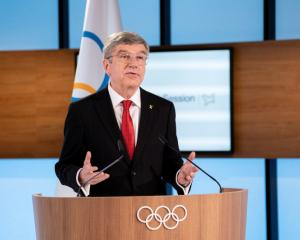 Thomas Bach has been re-elected to another term as IOC president. Photo: Reuters