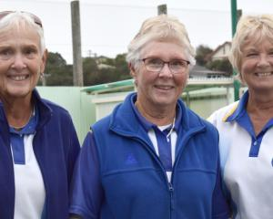 Taieri team triple treat . . . Winners of the champion of champion women's triples at St Kilda on...