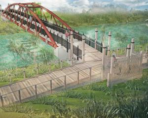 An Avon River bridge design. Image: Newsline / CCC