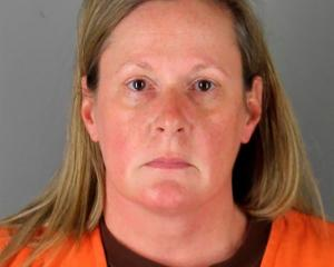 Kim Potter is being held at Hennepin County Jail. Photo: Reuters