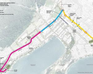 The arterial route will be built in three stages. Photo: Supplied