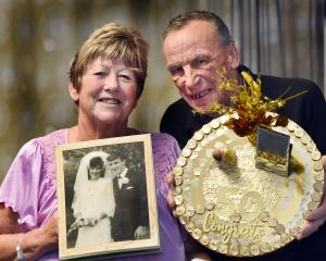Despite spending it in Dunedin Hospital, Maureen and John Simpson still had a special 50th...