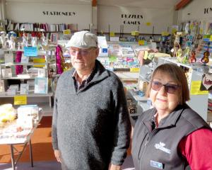 Dick and Janet Parker will close the doors to their business, More Than Books at the end of today...