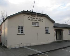 The existing Omakau Community Centre.PHOTO: ODT FILES