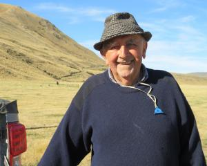 At 82, Harvey Eggleston is the oldest member of the Mayfield Collie Club. PHOTO: TONI WILLIAMS