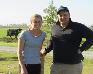 Kiri and Rhys Roberts are on a journey to farm smarter and improve work/life balance. PHOTO TONI...