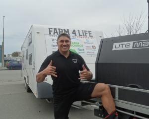 Farm4Life creator Tangaroa Walker has been travelling around New Zealand promoting his book....