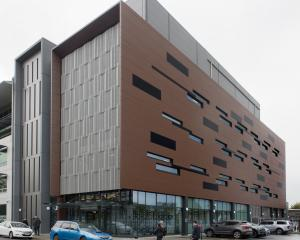 The University of Otago's $50million Eccles Building. PHOTO: ODT FILES