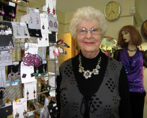 Estelle Rose owner Ethel Monaghan is pictured in the shop  shortly before she retired in 2011....